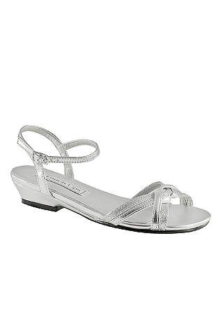 Touch Ups Grey Flower Shoes Melanie Jr S Sandal By
