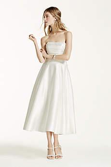 The David&-39-s Bridal Collection: Short &amp- Long Lengths - David&-39-s Bridal