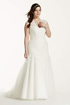 Long Mermaid/ Trumpet Vintage Wedding Dress - Melissa Sweet