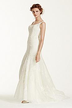 Melissa Sweet Venise Lace Tumpet Wedding Dress MS251071