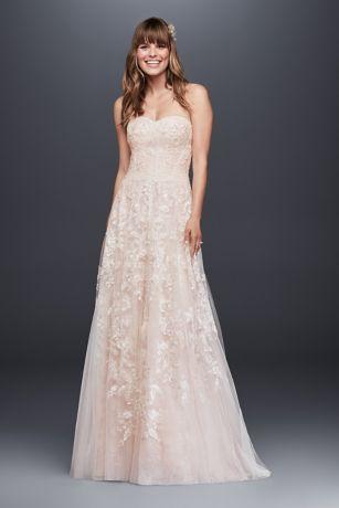 Melissa Sweet Lace A-Line Wedding Dress | David's Bridal