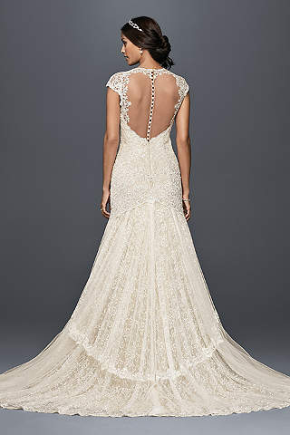 Romantic Wedding Dresses Davids Bridal - Romantic Lace Wedding Dress