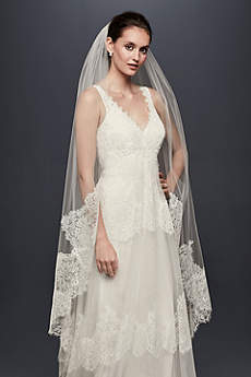 Eyelash Lace-Edge Walking Veil