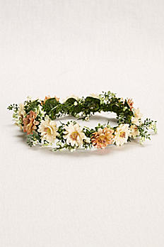 Flower Crown with Baby's Breath and Blooms N16023001A