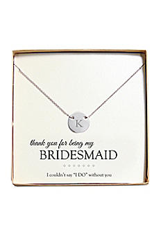 Personalized Medallion Necklace N9129