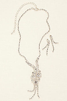 Cluster Y Necklace Set NK3089
