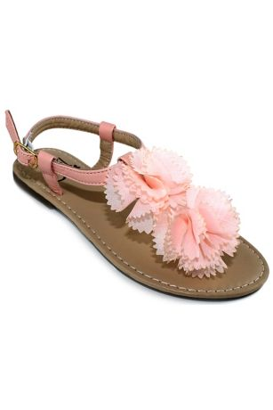 Girls Lace Mary Janes With Pearl Strap Davids Bridal