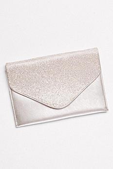Crystal Flap Envelope Clutch OMZ0391