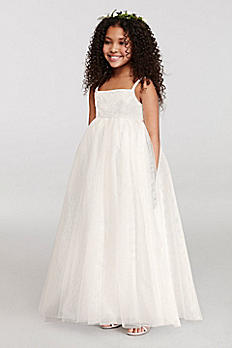 Tank Full Tulle Ball Gown with Lace Applique OP212