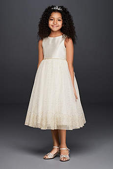 Short Ballgown Communion Dress - David's Bridal