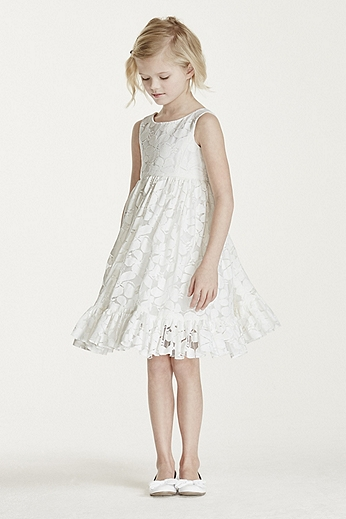 All Over Floral Lace Tank Dress OP220