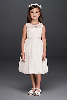 Short A-Line Tank Communion Dress -