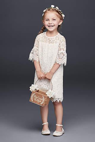 Girl in simple dress styles