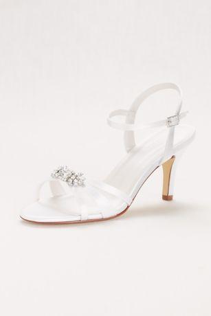 One Inch Silver Heels