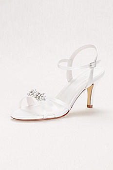 Mid-Heel Sandal with Crystal Embellishment PETRA