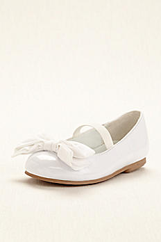 Touch of Nina Flower Girl Ballet Flat with Bow PORTIAT