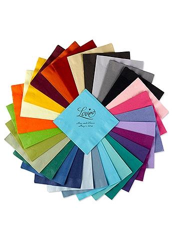 Personalized Design Color Beverage Napkin NAPKINBD