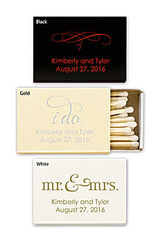 Personalized Match Box with Design MATCHBOXD