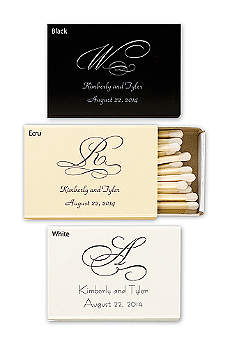 Personalized Match Box with Monogram