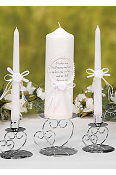 Heart Unity Candle Holder VL25DB