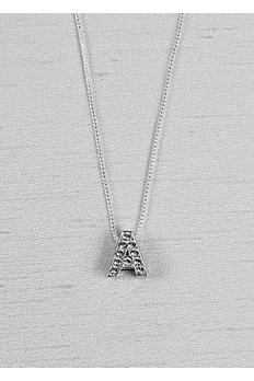 Crystal Initial Necklace 23KN