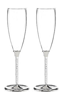 Personalized Glittering Bead Flutes DBK10053P