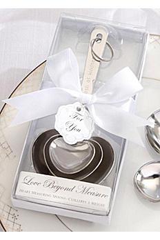 Love Beyond Measure Heart Shaped Measuring Spoons 13030NA