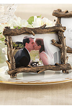 Scenic View Tree Branch Place Card Photo Holder 25076BR