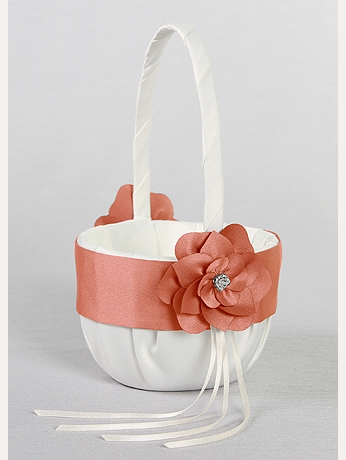 DB Exclusive Floral Desire Flower Girl Basket DB74FGB