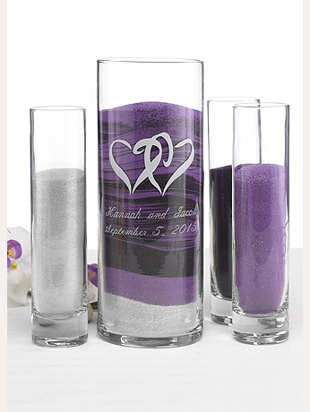 Personalized True Love Sand Ceremony Set DBK56005P