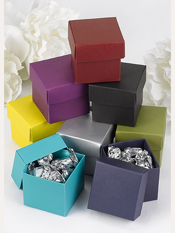 Two Piece Favor Boxes Pack of 25 2PcBoxB