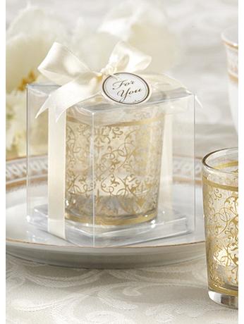 Golden Renaissance Tealight Holder Set of 4 20120GD