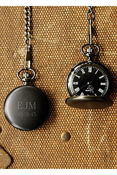 Personalized Midnight Pocket Watch GC938