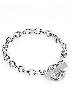 Personalized Rhinestone Toggle Bracelet B9161S