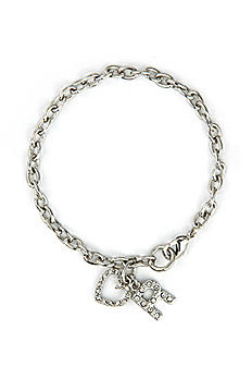 DB Exclusive Personalized Heart Charm Bracelet BR3691
