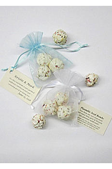Personalized Seed Bomb Favor Bags SSB