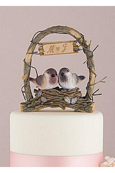 Personalized Love Nest Cake Topper 9386