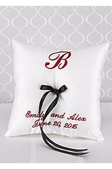 DB Exc Personalized Monogram Ring Bearer Pillow DBKX37888P