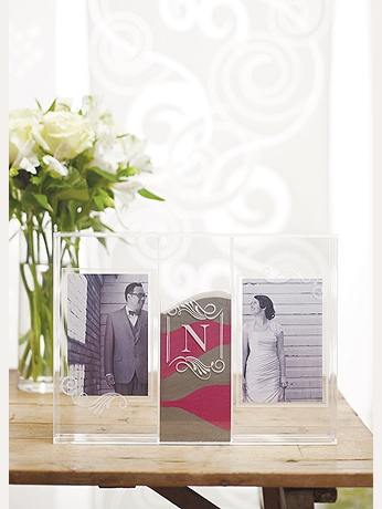 Personalized Sand Ceremony Shadow Box Photo Frame 9372
