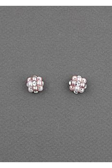 Pink Pastel Beehive Earrings 20310230