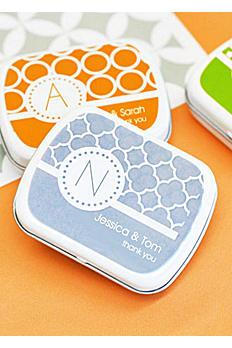 Personalized MOD Pattern Monogram Mint Tins EB1049MDM