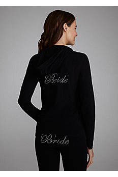 Bride Rhinestone Hooded Jacket DB16CSHOODA