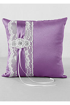 DB Exclusive Pearl Lace Ring Bearer Pillow DB86RP