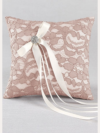 DB Exclusive Lace Garden Ring Bearer Pillow DB90RP