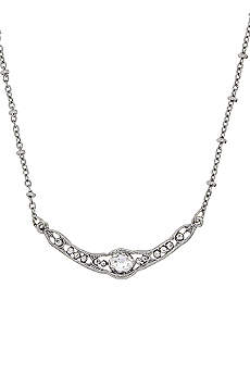 Downton Abbey Silver Crystal Collar Necklace