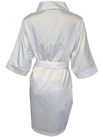 DB Exclusive Bride Satin Robe DBBROBE
