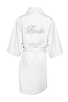 DB Exclusive Bride Satin Robe DBBROBE