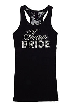 DB Exclusive Team Bride Lace Racerback Tank DBTBLACE