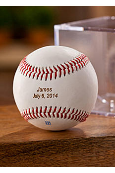 Personalized Baseball with Case GC1100