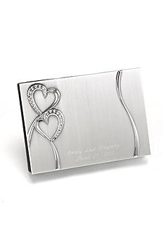 Personalized Sparkling Love Guest Book DBK10007P
